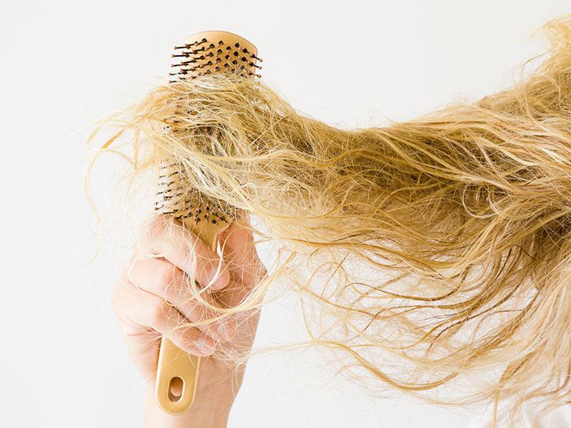 lavare capelli secchi